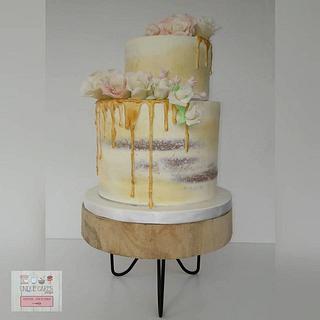 Bolo Batismo - Baptism Cake - Cake by Unique Cake's Boutique