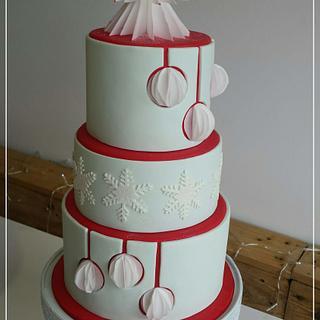 Wedding and Christmas Cake