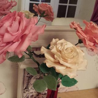 Roses I can't bare to part with