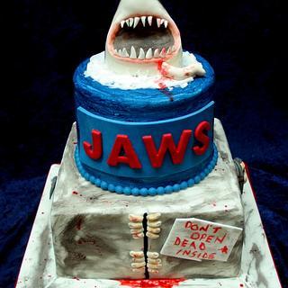 Jaws & Zombie Cake