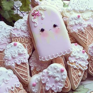 Girlies  - Cake by Teri Pringle Wood
