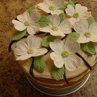 Cake I made to celebrate my anniversary.