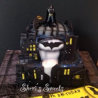 Batman - Cake by Sheri Hicks