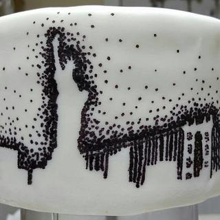 New York City Skyline Cake