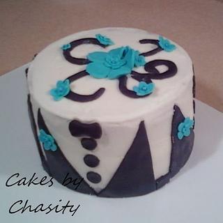 tuxedo cake - Cake by chasity hurley
