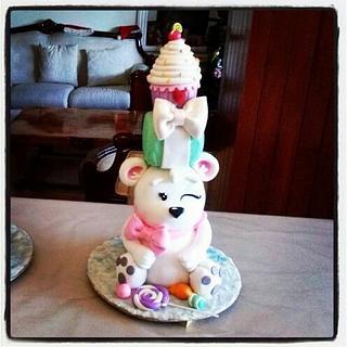 TOWER CAKE SWEET BIRTHDAY - Cake by Erika Fabiola Salazar Macías
