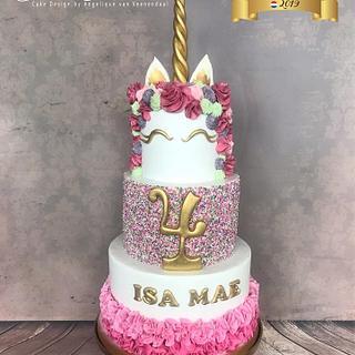 Unicorn cake, smash cake & cupcakes