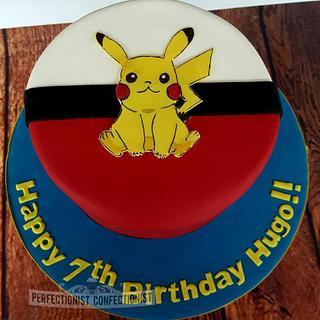 Hugo - Pikachu Pokemon Birthday Cake