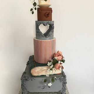 Wedding Cake for Cake International London 2019