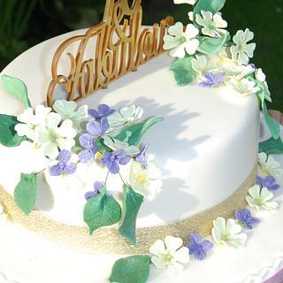 Pretty Primrose. - Cake by Hannah - Crafnant Cakes