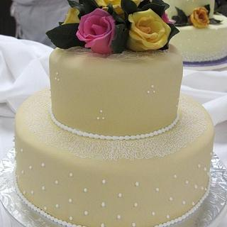 Wedding Cake - Cake by Lauren