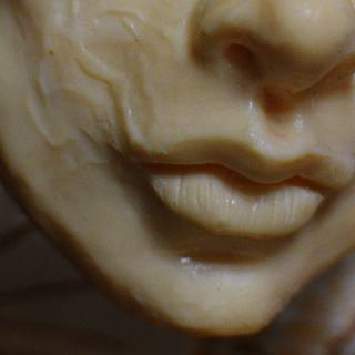 detail portrait with saracino model paste