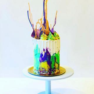 Isomalt Cake