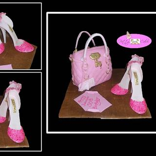 Bag Lady - Cake by PattyCakery