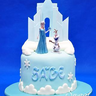 Frozen Cake - Cake by Sweet Success
