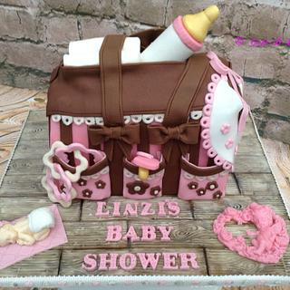 Baby Shower - Cake by Sweet Lakes Cakes
