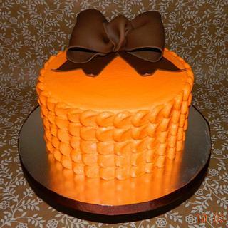 Cyndy's birthday cake.