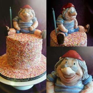 Smee sprinkle birthday cake