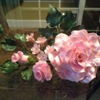 Pink Roses Spray