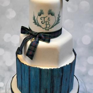 Scotch thistle cake