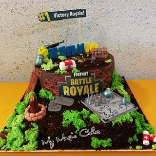 Fortnite game cake