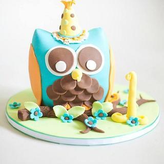 Camden's smash cake