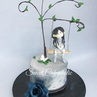 Gorgeous in Goth. - Cake by SweetCakeaholic1