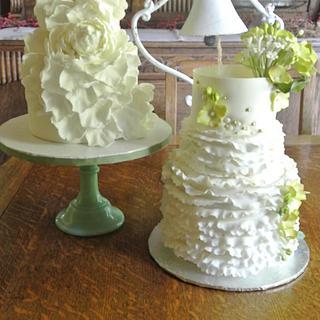 Cake Tasting for Andrea and Christine