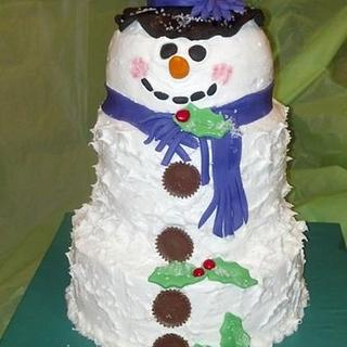 Frosting the Snowman