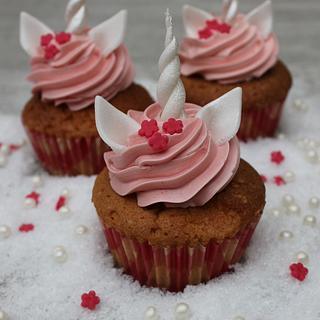 Unicorn cupcakes - Cake by Anse De Gijnst
