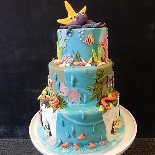 Animal cake - Cake by Gaabs