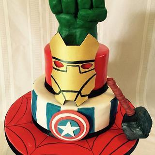 The Super Hero cake - Cake by horsecountrycakes