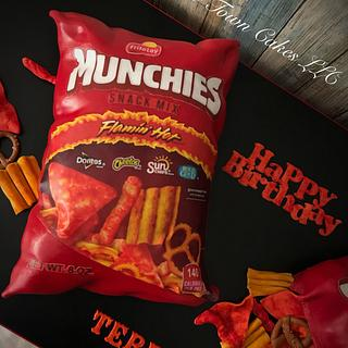 Munchies snack bag cake - Cake by Talk of the Town Cakes LLC