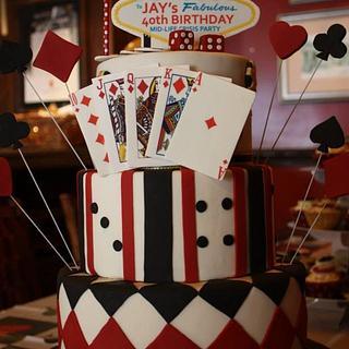 Gatsby - Vegas Cake