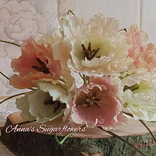 Sugarflower tulps