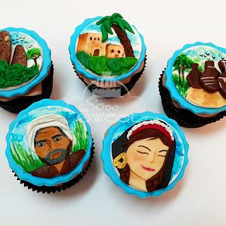 Egyptian countryside cupcakes