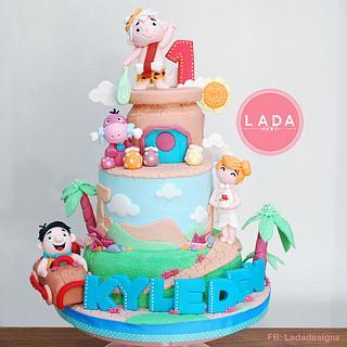 Flintstone Cake