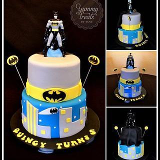 Batman Cake! - Cake by YummyTreatsbyYane