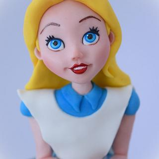 Alice in Wondeland - Cake by Angela Cassano