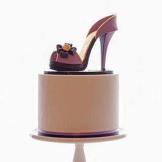 My first sugar shoe!  - Cake by Jessie lee cakes