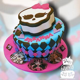 Monster High 9th Birthday - Cake by FaithfullyCakes