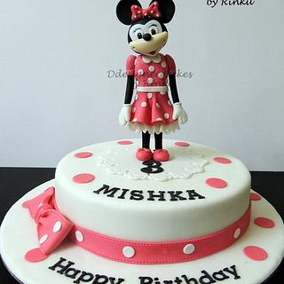 Cake Topper -Minnie Mouse