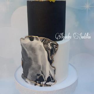 Love cake ❤ - Cake by Alejandra Santillán