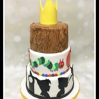 Children's Storybook Cake