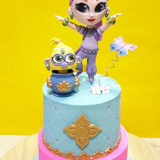 Shimmer Cake - Cake by C'est LAVIE Cakes and Pastries