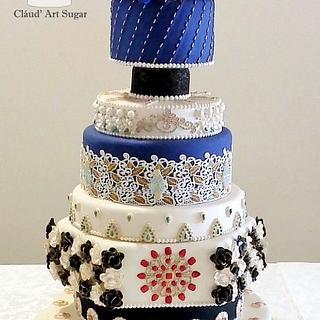 Opulence Indian Cake