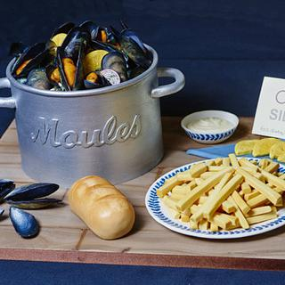 Cake International entry - Moules et Frites