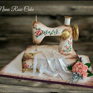 Sewing Machine ....love is sugar Art Collaboration