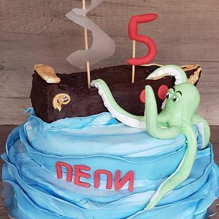 Pirat cake - Cake by Alice