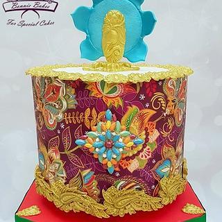 Indian style cake